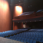 A partial View of GWL Theater Seating from the Stage