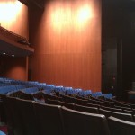 A partial view of GWL Theater Seating