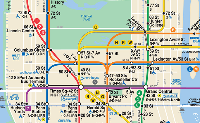 Nyc Subway Map Q Line.Gerald W Lynch Theater Visit Us
