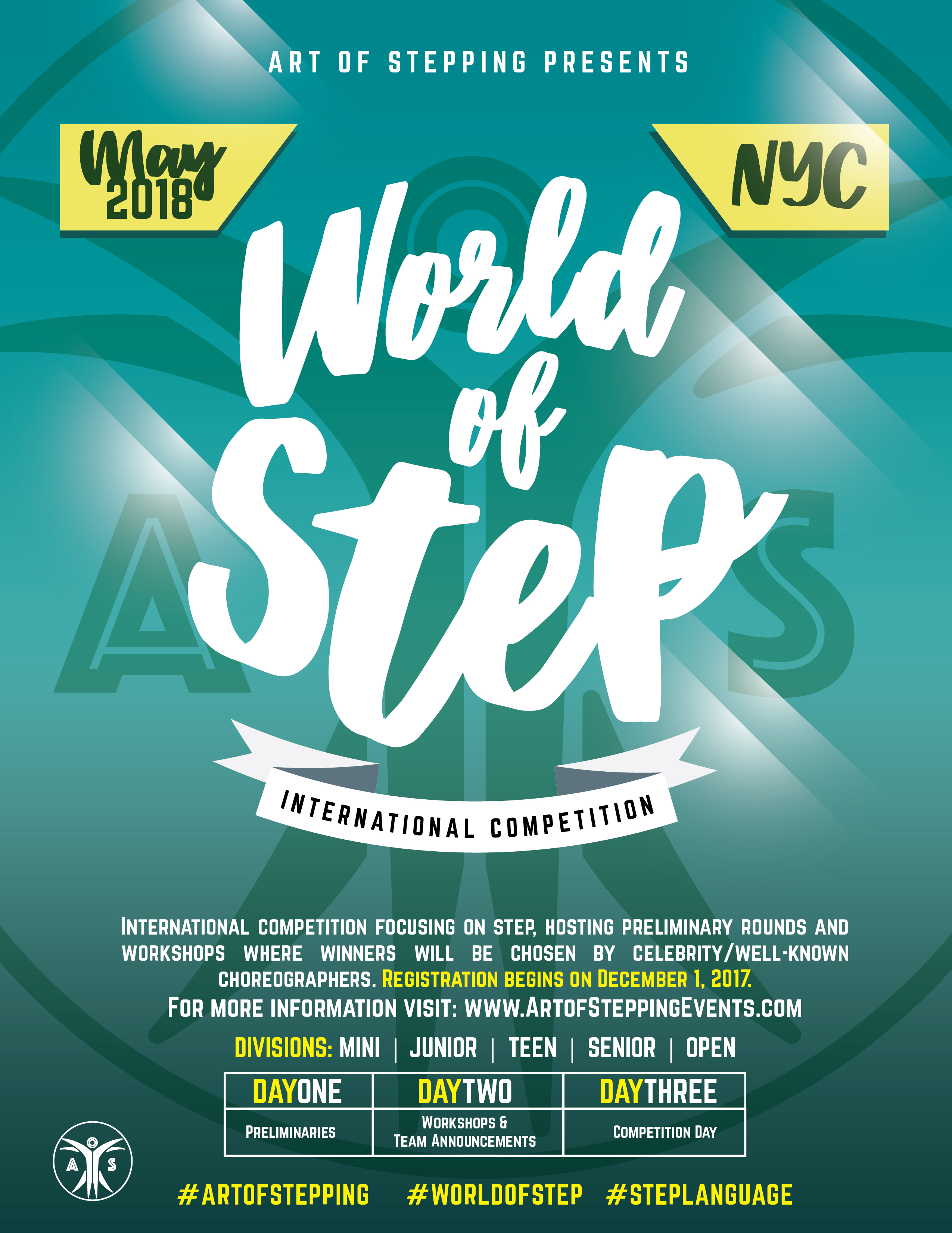 Gerald w lynch theaterart of stepping presents world of step join in on artistic and step performances meet greet with celebrity judges and m4hsunfo